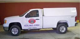 All Seasons Lawn Care truck